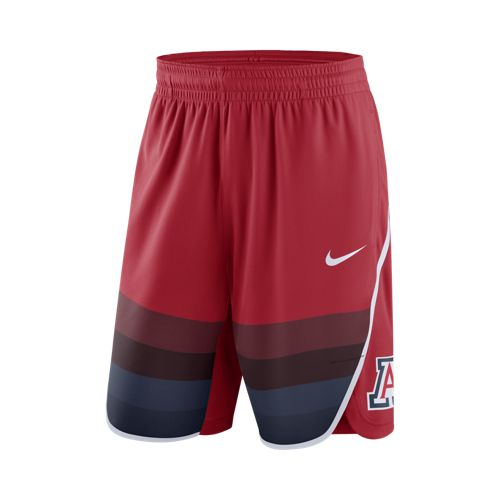Nike: Arizona Men's On-Court Basketball Replica Shorts Red