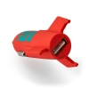 ASTRO Rocket Car Charger USB Salmon thumbnail