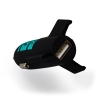 ASTRO Rocket Car Charger USB Black thumbnail