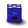 PLAYA Dice Wall USB Charger Blue thumbnail