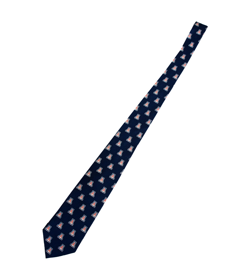 Jardine Collection: Arizona Block 'A' Tie Navy