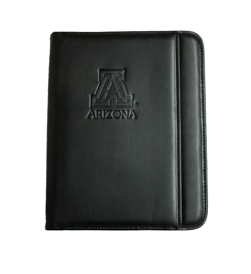 Samsill: Arizona Block 'A' Zipper Padfolio with iPad Pocket