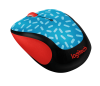 Logitech: Party Collection M325c Wireless Mouse Blue thumbnail
