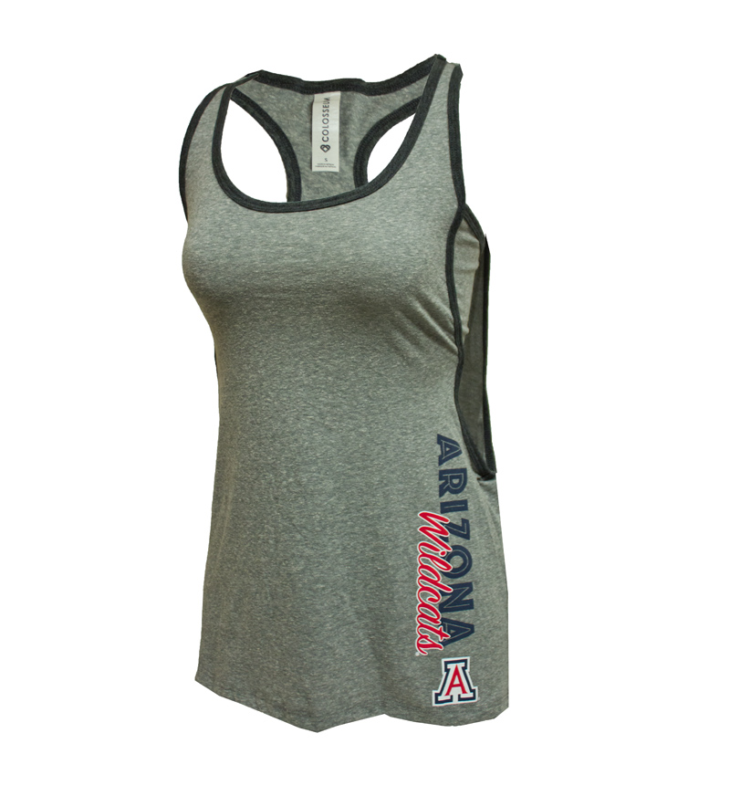 Colosseum: Arizona Wildcats Sultry Tank Heather Grey