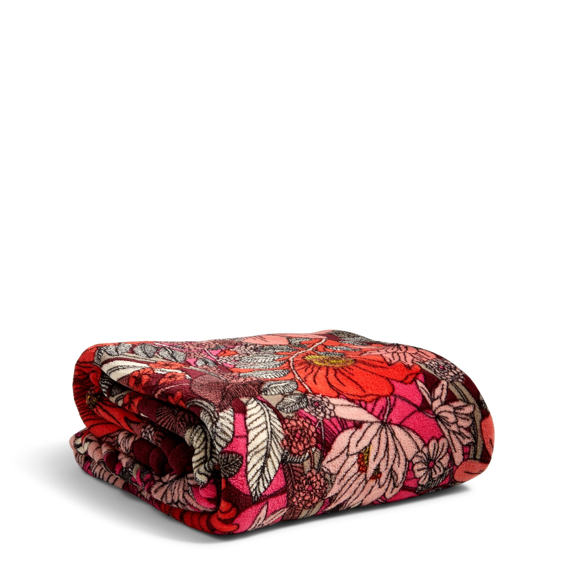Bohemian Blooms Throw Blanket by Vera Bradley