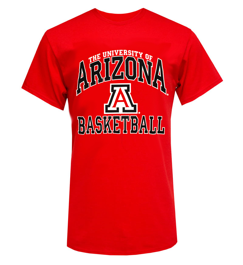 The Game: Basketball The University of Arizona Red Tee