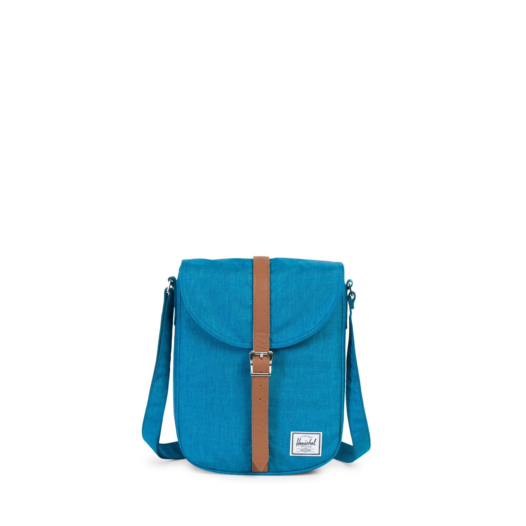 Herschel Kingsgate Crossbody | Womens Petrol Crosshatch