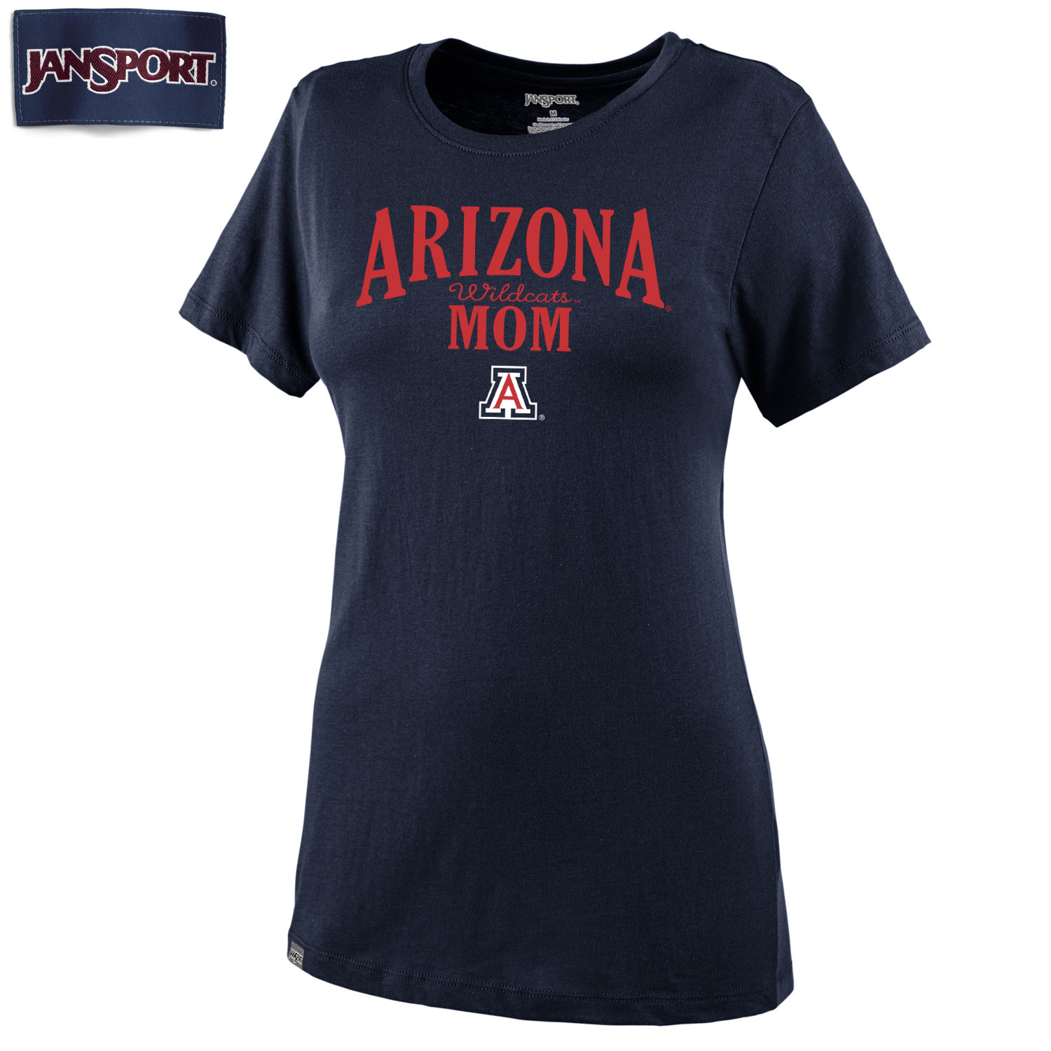 JanSport: Arizona Wildcats Mom Molly II Tee Navy
