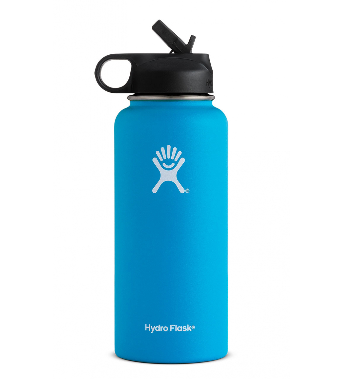 Hydro Flask: 32 oz Wide Mouth w/ Straw Lid-Pacific