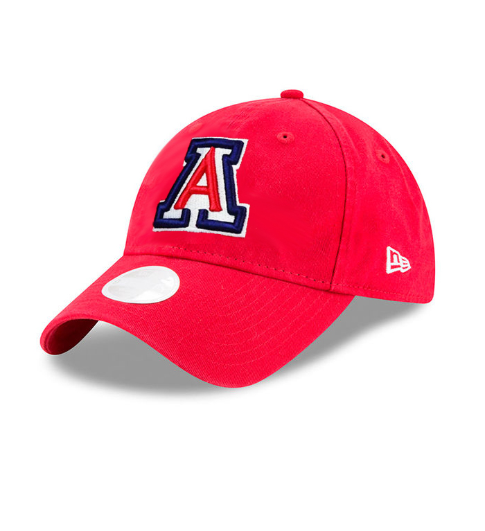 New Era: Arizona Women's Preferred Pick 9Twenty Adj Red Cap