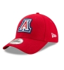 New Era: Arizona Logo Bevel Team 9Forty Adjustable Cap-Red thumbnail