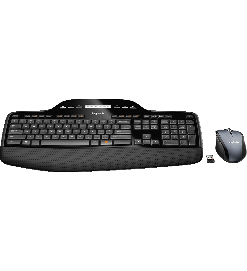 Logitech: Wireless Desktop MK710 Keyboard + Mouse