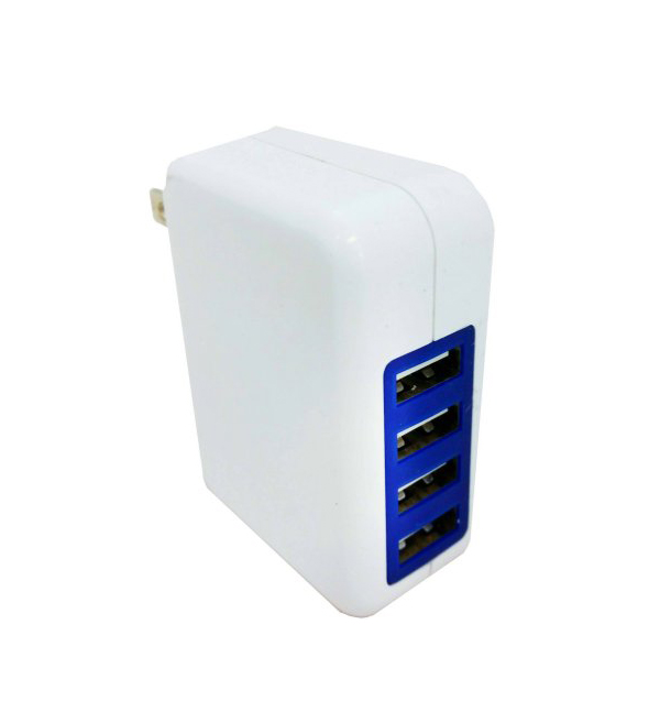 Xavier: Professional Cable™ 4-Port USB Wall Charger