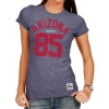 "Retro Brand: Arizona Wildcats ""85"" Women's Tri-Blend Navy thumbnail"