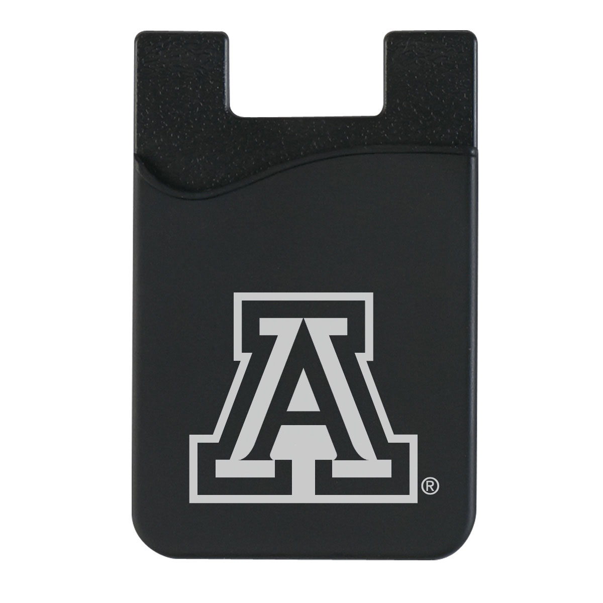 Arizona Team Logo Silicone Cell Phone Wallet