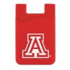 Arizona Team Logo Silicone Cell Phone Wallet thumbnail