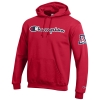Champion: Arizona Team Logo Eco Powerblend Hoodie-Red