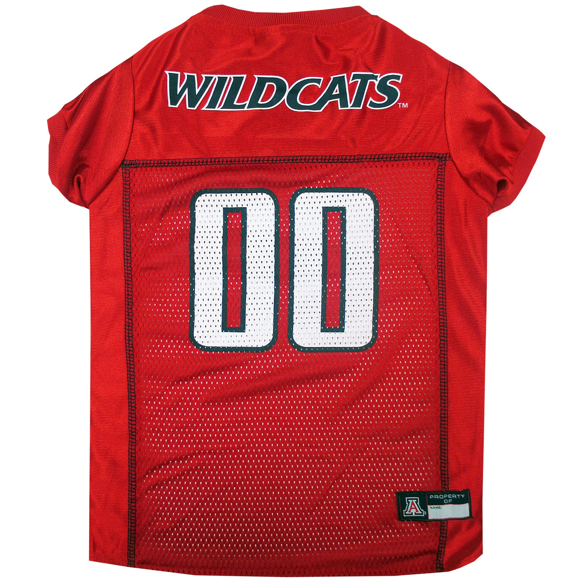 Pets First Company: Arizona Team Logo Mesh Jersey for Dogs