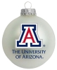 Image for The University of Arizona Seasonal Ornament WHITE VELVET
