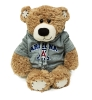 Image for Plush Arizona Jersey Stitches Brown Bear