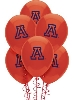 "Image for Party Decor: Arizona 11"" Red Round Latex Ballons 10ct."