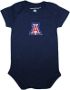 Image for Creative Knitwear: Infant Navy Arizona Onesie