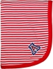 Image for Creative Knitwear: Arizona Infant Red Stripe Blanket