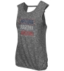 Image for Arizona Star Island Tank Heather Charcoal By Colosseum