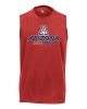 Image for Badger Sport: Arizona Bear Down B-Core Sleeveless Tee Red