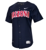Cover Image for Nike: Arizona Baseball Full Button Vapor Jersey-Red