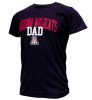 Image for Official Arizona Wear: Arizona 'A' Wildcats Dad Tee Navy