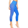 Image for Colosseum: Arizona Women's Steady Seamless Capri-Zenith Blue