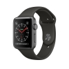 Image for Apple Watch Series 3 GPS Space Gray Alum 38mm W/ Gray Band