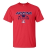 Image for CT Beat: Arizona Wildcats Soccer Tee - Red