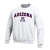Image for Gear: Arizona Arch Logo Big Cotton Crew - White