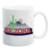 Image for Coffee Mug: Arizona Vault Cactus Team Logo