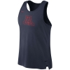 Cover Image for Nike: Arizona Mens Elite Sleeveless Breathe Top - Red