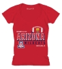 Image for Arizona Wildcats Football 2017 Foster Farms Bowl V-Neck Tee