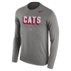 Image for Nike: Arizona CATS Dri-Blend Long Sleeve Tee-Grey