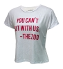 Image for Retro Brand: Arizona You Can't Sit With Us Zona Zoo Crop Top