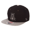 Image for Zephyr: Arizona Boss Snapback Hat - Black / Gray