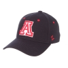 Image for Zephyr: Arizona Wildcat Authentic Stretch Cap-Navy/Red