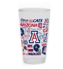 Image for Glass: Arizona Spirit Color Power Frosted 16oz Mixing
