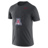 Image for Nike: Arizona Wildcats Dri-FIT Football Icon Tee-Charcoal