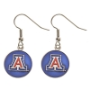 Image for HJC: Arizona Wildcats Antiqued Logo Earrings