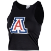 Image for ZooZatz: Arizona First Down Crop Top - Black