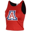 Image for ZooZatz: Arizona First Down Crop Top - Red