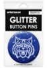 Cover Image for Button: Arizona Team Logo Glitter Button Pin by Spirit Gear