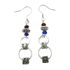 Image for La Diva Sport: Arizona Wildcats UA Block Earrings