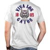 Image for Retro Brand: Arizona Viva Los Gatos 1885 Pocket White Tee
